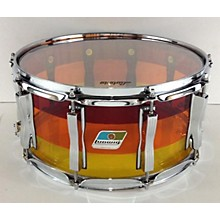 Ludwig 6.5X14 Vistalite Tequila Snare Drum