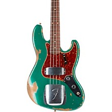 60 Jazz Bass Heavy Relic Aged Sherwood Green Metallic