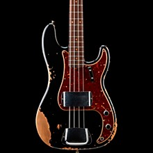 '60 Precision Bass Heavy Relic Aged Black