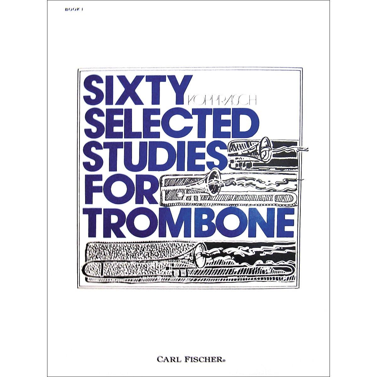 Carl Fischer 60 Selected Studies for Trombone