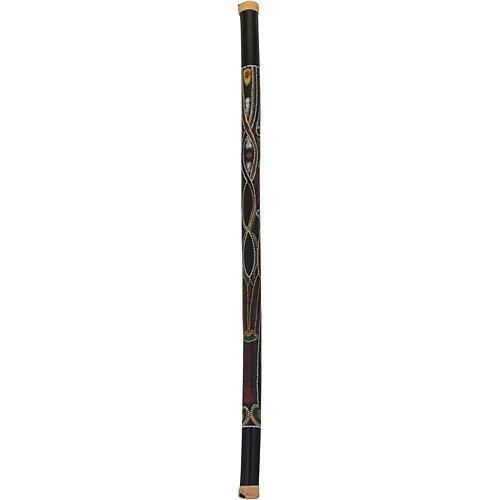 Pearl 60 in. Bamboo Rainstick in Hand-Painted Hidden Spirit Finish