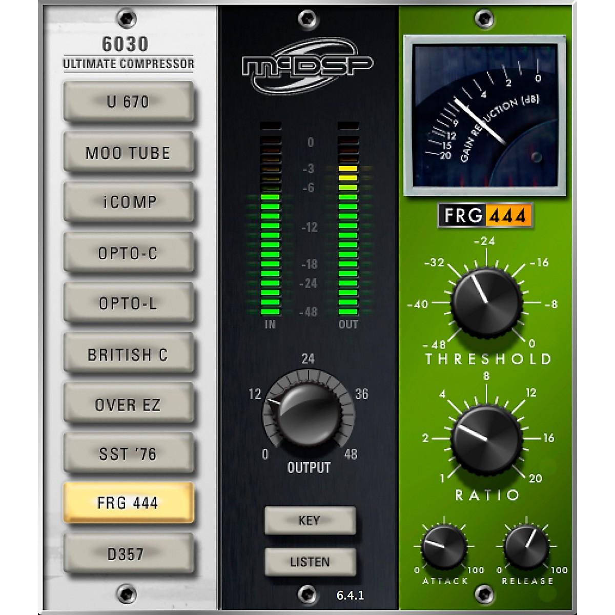 McDSP 6030 Ultimate Compressor HD v6 (Software Download)