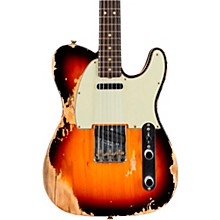'60s Heavy Relic/Compound Radius Telecaster - Custom Built - Namm Limited Edition Aged 3-Color Sunburst