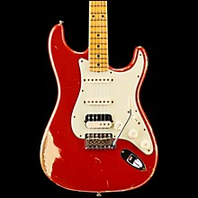 '60s Imperial Arc Stratocaster Maple Fingerboard HSS Masterbuilt by Dale Wilson Dakota Red over Desert Sand
