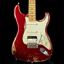 '60s Imperial Arc Stratocaster Maple Fingerboard HSS Masterbuilt by Dale Wilson Firemist Red over Aztec Gold