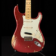 '60s Imperial Arc Stratocaster Maple Fingerboard SSS Masterbuilt by Paul Waller Red Sparkle over Aztec Gold