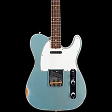 60s Relic Telecaster Custom Electric Guitar Aged Blue Ice Metallic