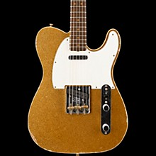 60s Relic Telecaster Custom Electric Guitar Faded Gold Sparkle