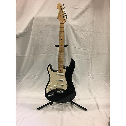 used fender 60th anniversary stratocaster solid body electric guitar black and white guitar center. Black Bedroom Furniture Sets. Home Design Ideas