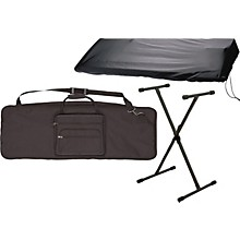 Musician's Gear 61 Key Stand and Cover Package