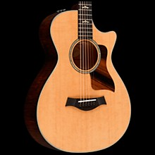 Taylor 612ce 12-Fret Grand Concert Acoustic-Electric Guitar Brown Sugar