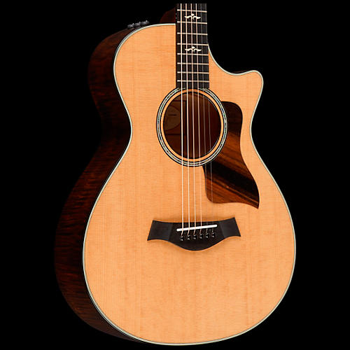 Taylor 612ce 12-Fret Grand Concert Acoustic-Electric Guitar