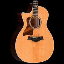 Taylor 614ce-LH V-Class Left-Handed Grand Auditorium Acoustic-Electric Guitar Brown Sugar