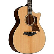 614ce V-Class Grand Auditorium Acoustic-Electric Guitar Brown Sugar