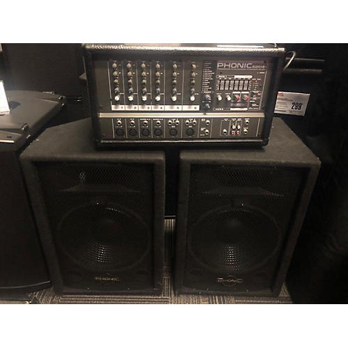 Phonic 620 PLUS Sound Package