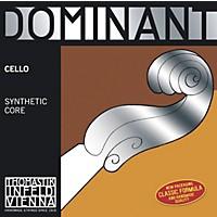 Thomastik Dominant 4/4 Size Cello Strings 4/4 C String, Silver