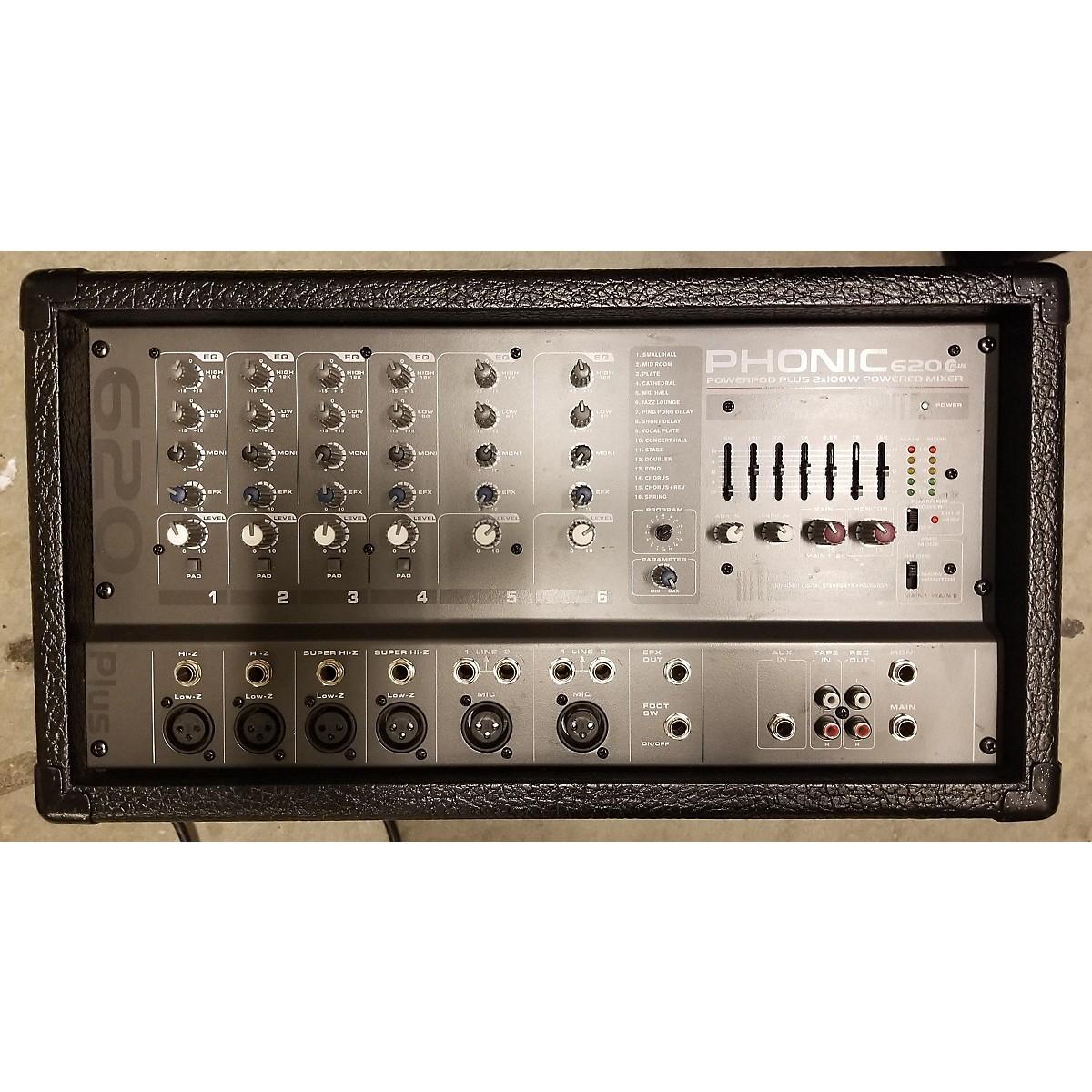 Phonic 620Plus Powered Mixer