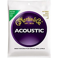 Martin M170 80/20 Bronze Extra Light 3-Pack  ...