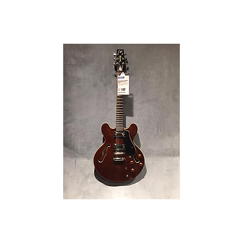 Vantage 635V Hollow Body Electric Guitar