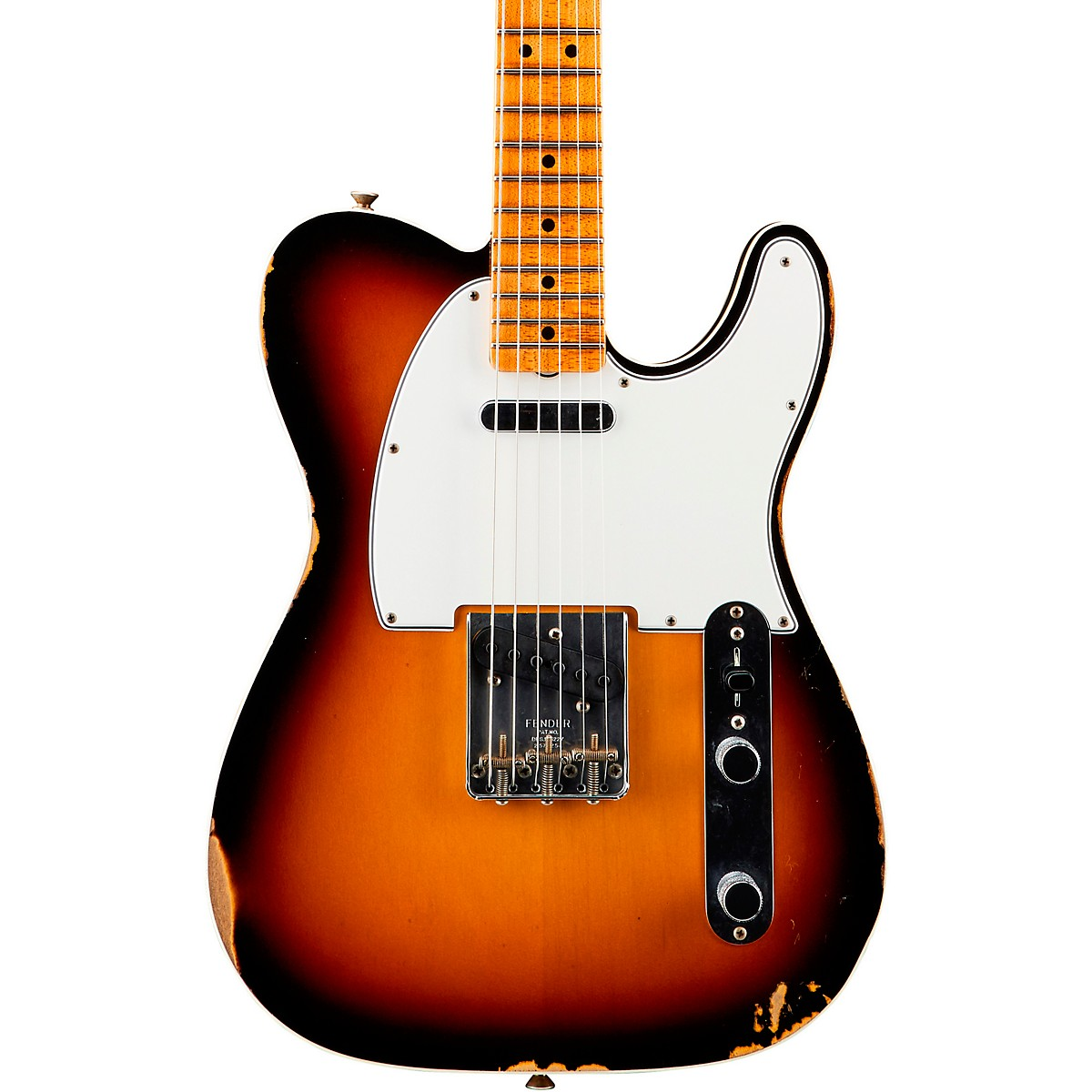 Fender Custom Shop '65 Custom Relic Telecaster Maple Fingerboard Electric Guitar