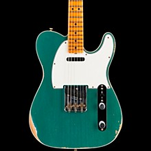 '65 Custom Relic Telecaster Maple Fingerboard Electric Guitar Faded Aged Sherwood Green Metallic