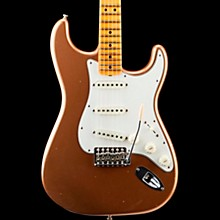 '65 Journeyman Stratocaster Closet Classic Maple Fingerboard Electric Guitar Faded Aged Fire Mist Gold