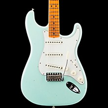 '65 Journeyman Stratocaster Closet Classic Maple Fingerboard Electric Guitar Faded Aged Surf Green
