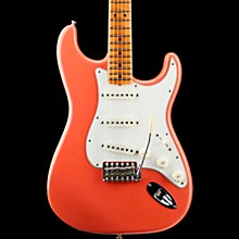 '65 Journeyman Stratocaster Closet Classic Maple Fingerboard Electric Guitar Super Faded Aged Fiesta Red