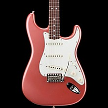 '65 Journeyman Stratocaster Closet Classic Rosewood Fingerboard Electric Guitar Aged Burgundy Mist Metallic