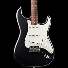 '65 Journeyman Stratocaster Closet Classic Rosewood Fingerboard Electric Guitar Aged Charcoal Frost Metallic
