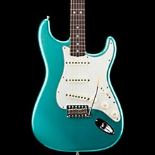 '65 Journeyman Stratocaster Closet Classic Rosewood Fingerboard Electric Guitar Aged Teal Green Metallic
