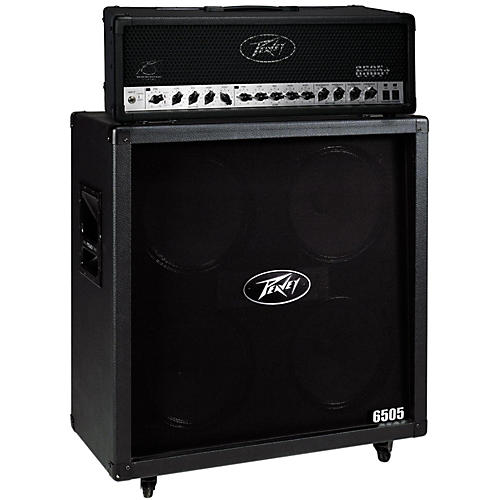 Peavey 6505+ 120W Guitar Head with 6505 4x12 2400W Cabinet