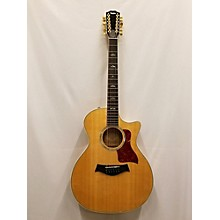 Taylor 654ce 12 String Acoustic Electric Guitar