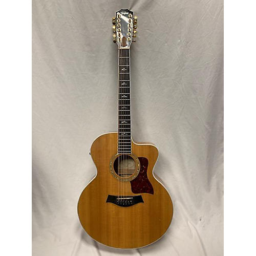 Taylor 655-CE 12 String Acoustic Electric Guitar