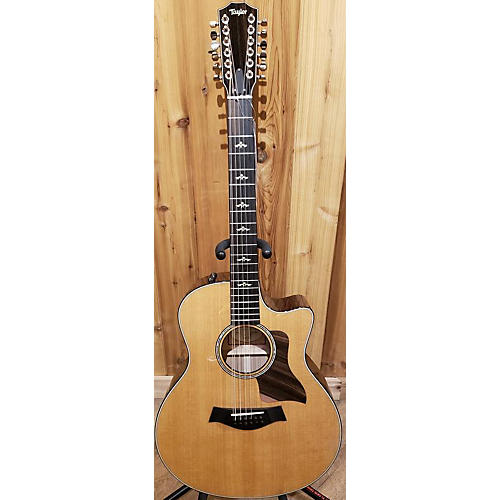 Taylor 656CE 12 String Acoustic Electric Guitar