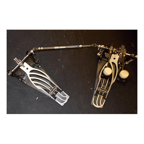 Gibraltar 6611DB Double Kick Double Bass Drum Pedal
