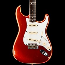 '67 Relic Stratocaster Rosewood Fingerboard Electric Guitar Super Faded Aged Candy Apple Red