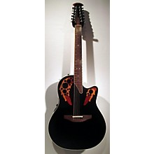 Ovation 6758lx Elite Acoustic Electric Guitar