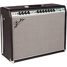 Fender '68 Custom Twin Reverb 85W 2x12 Tube Guitar Combo Amp with Celestion G12V-70s Speaker Level 1 Black
