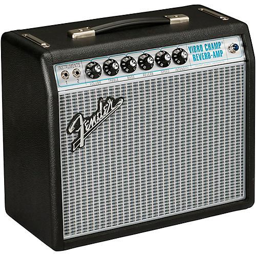 Fender '68 Custom Vibro Champ Reverb 5W 1x10 Guitar Combo Amp