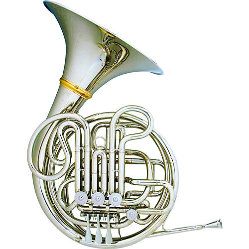 Hans Hoyer 6801NSA-L Nickel Silver Heritage Double Horn