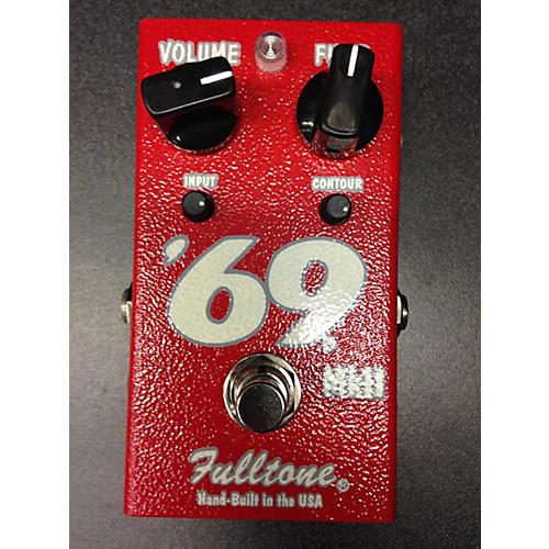 Fulltone '69 II Red Effect Pedal