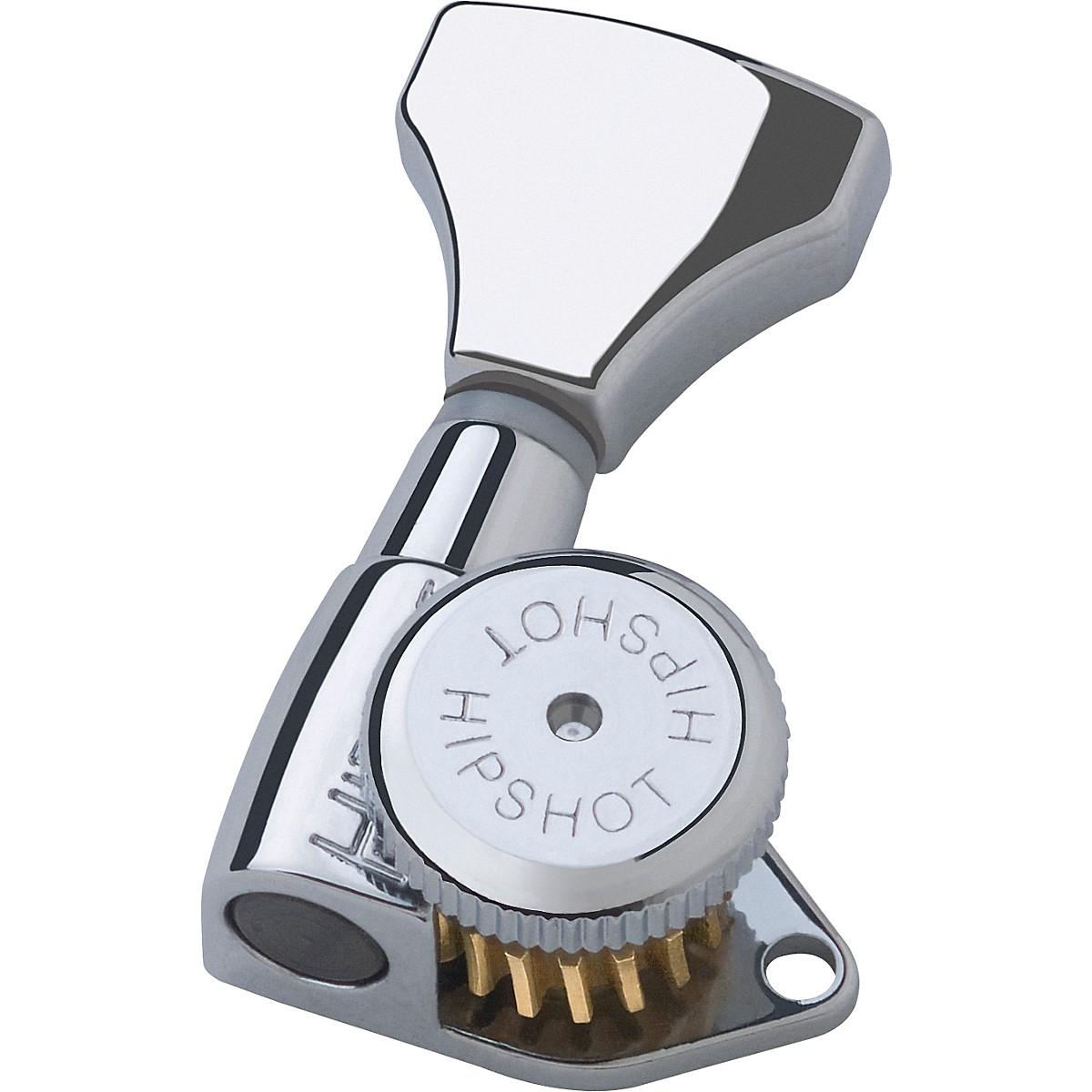 Hipshot 6GLO Grip Lock Standard Locking Guitar Tuning Machine Set