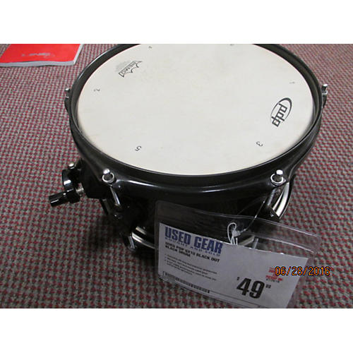 PDP by DW 6X10 Black Out Drum