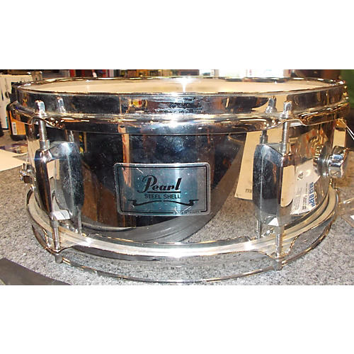 Pearl 6X13 Steel Shell Snare Drum