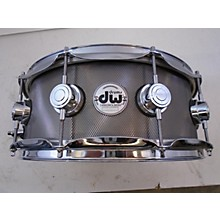 DW 6X14 Collector's Series Knurled Black Nickel Over Steel Drum