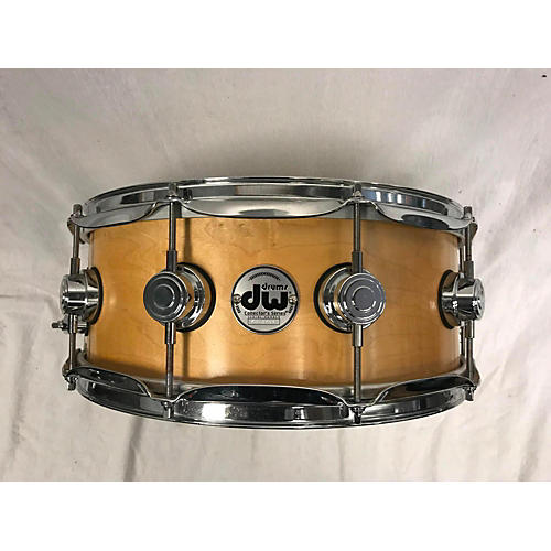 DW 6X14 Collector's Series Natural Satin Oil Drum