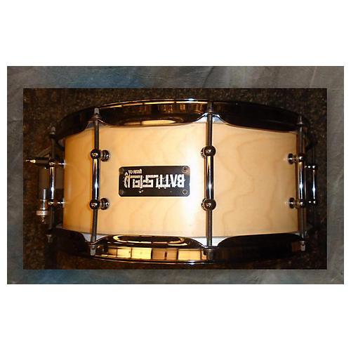 used battlefield drums 6x14 maple snare drum drum guitar center. Black Bedroom Furniture Sets. Home Design Ideas