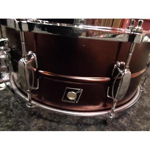 used tama 6x14 metalworks snare drum satin red 13 guitar center. Black Bedroom Furniture Sets. Home Design Ideas