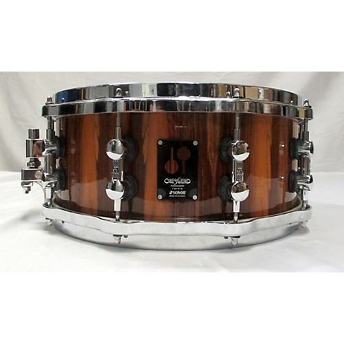 Sonor 6X14 One Of A Kind Poisonwood\maple Snare Drum Drum